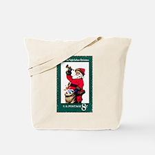 Unique Christmas stamp Tote Bag