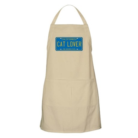 California Cat Lover BBQ Apron