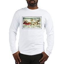 Cute Horse christmas Long Sleeve T-Shirt