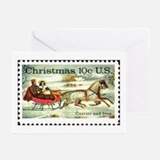 Funny Stamps Greeting Cards (Pk of 10)