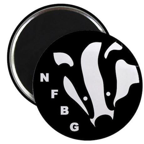 NFBG Badger Magnet