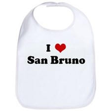 I Love San Bruno Bib