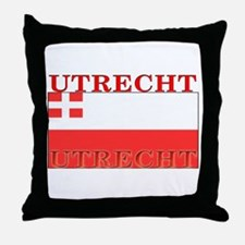 Utrecht Flag Throw Pillow
