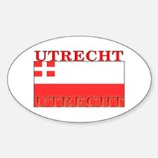 Utrecht Flag Oval Decal
