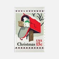 Christmas-Stamp-1977_10x10 Magnets