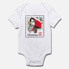 Christmas-Stamp-1977_10x10 Body Suit