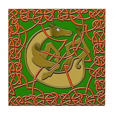 Celtic Horse Ceramic Tile