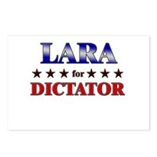 LARA for dictator Postcards (Package of 8)