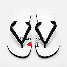 I Love RATIONALITIES Flip Flops