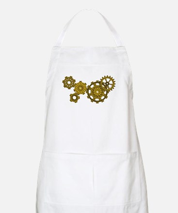 Woven Clockwork Apron (light)