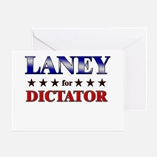 LANEY for dictator Greeting Card