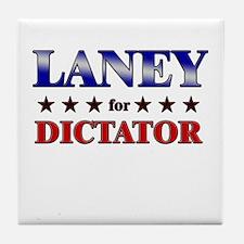 LANEY for dictator Tile Coaster