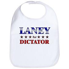 LANEY for dictator Bib