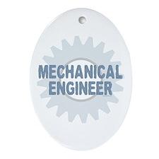 Mechanical Engineer Oval Ornament