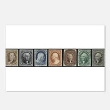Funny Stamps Postcards (Package of 8)