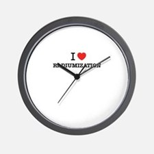 I Love RADIUMIZATION Wall Clock