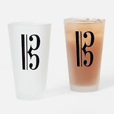 AltoClefSimple.jpg Drinking Glass