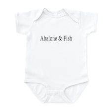 Funny Seafood Infant Bodysuit