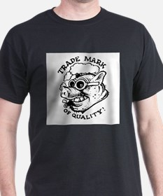 TMOQ Smoking Pig Large T-Shirt