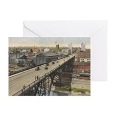 Vintage Youngstown - Market St. Greeting Cards (Pk