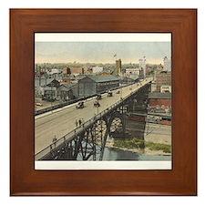 Vintage Youngstown - Market St. Framed Tile