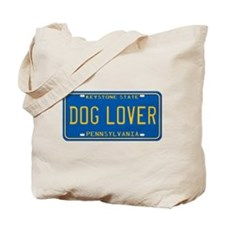 Pennsylvania Dog Lover Tote Bag