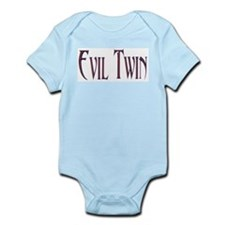 Evil Twin T-shirts Infant Creeper