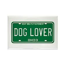 Ohio Dog Lover Rectangle Magnet