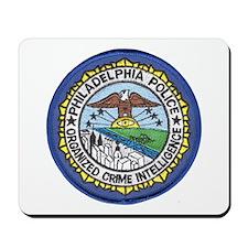 Philadelphia Police Intel  Mousepad