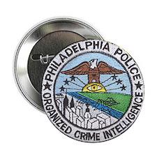 "Philadelphia Police Intel 2.25"" Button"