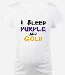 I Bleed Purple and Gold Shirt