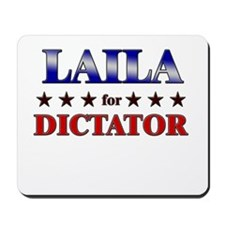 LAILA for dictator Mousepad