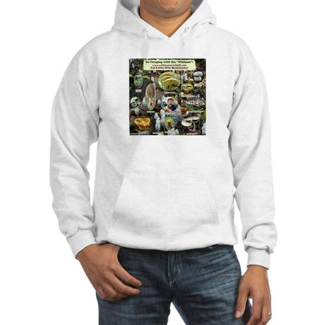 Edible Wild Mushrooms Hooded Sweatshirt