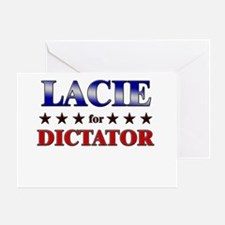LACIE for dictator Greeting Card