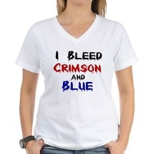 I Bleed Crimson and Blue Shirt