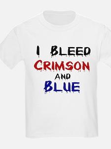 I Bleed Crimson and Blue T-Shirt
