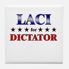 LACI for dictator Tile Coaster