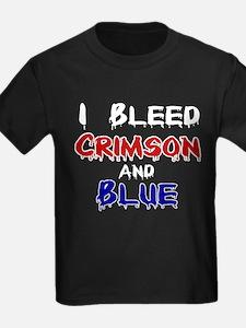 I Bleed Crimson and Blue T