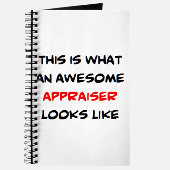 awesome appraiser Journal