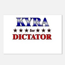 KYRA for dictator Postcards (Package of 8)
