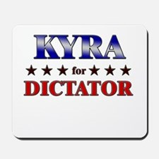 KYRA for dictator Mousepad