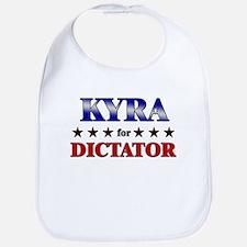 KYRA for dictator Bib