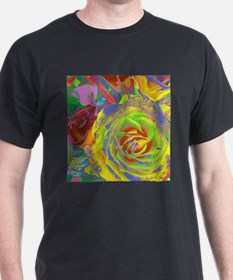 Extreme Yellow Rose T-Shirt