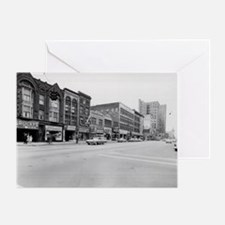 Youngstown East Federal St. Greeting Card