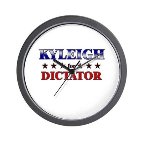KYLEIGH for dictator Wall Clock