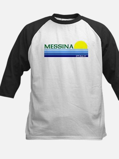 Messina, Italy Kids Baseball Jersey