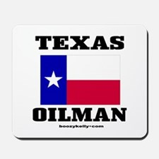 Texas Oilman Mousepad
