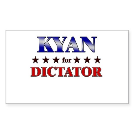 KYAN for dictator Rectangle Sticker