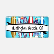 Funny West coast Aluminum License Plate