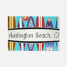 Cute Beach california Rectangle Magnet